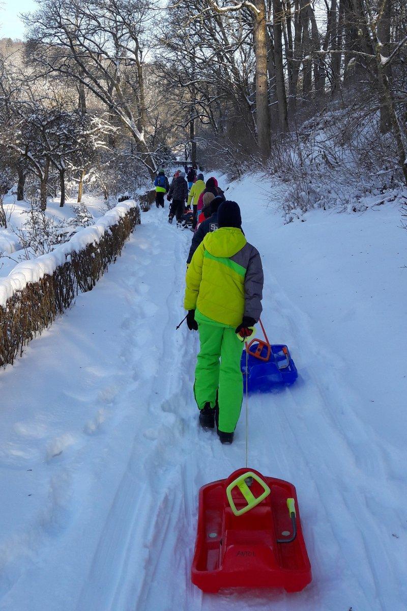 Gemeinsam Im Schnee